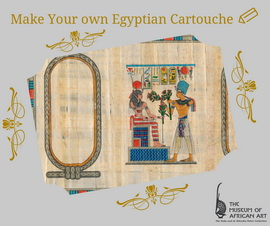 Make your own egyptian cartouche
