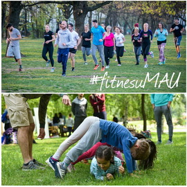 Fitnes u bašti MAU