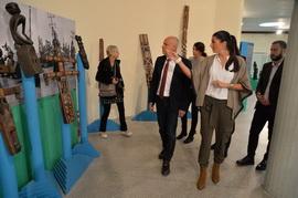 Poseta gradonačelnika Muzeju afričke umetnosti